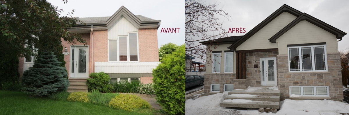 Best Renovation Maison Exterieur Avant Apres Contemporary - House ...
