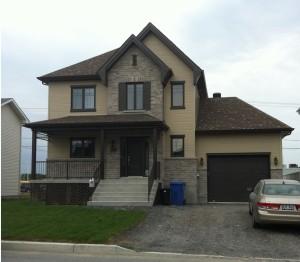 Maison neuve cottage
